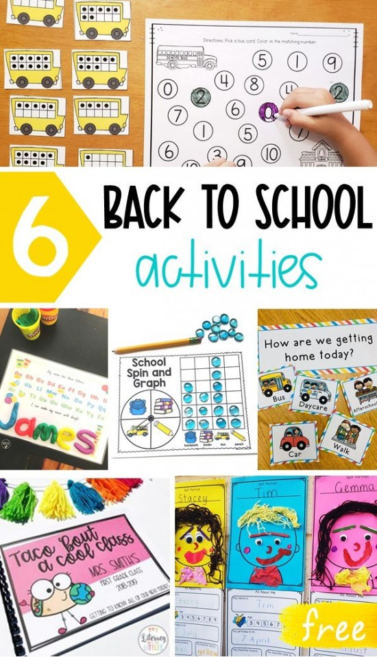 Back-to-School activities