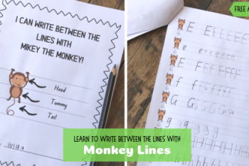 Writing with Monkey Lines