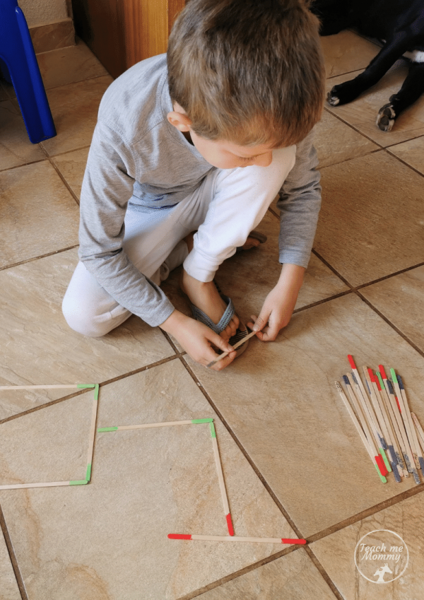 DIY Colored Sticks 5