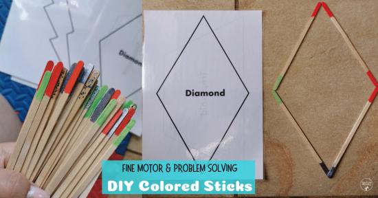 DIY Colored Sticks fb