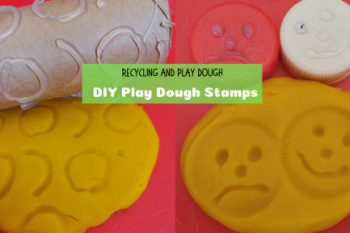 DIY Playdough Stamps
