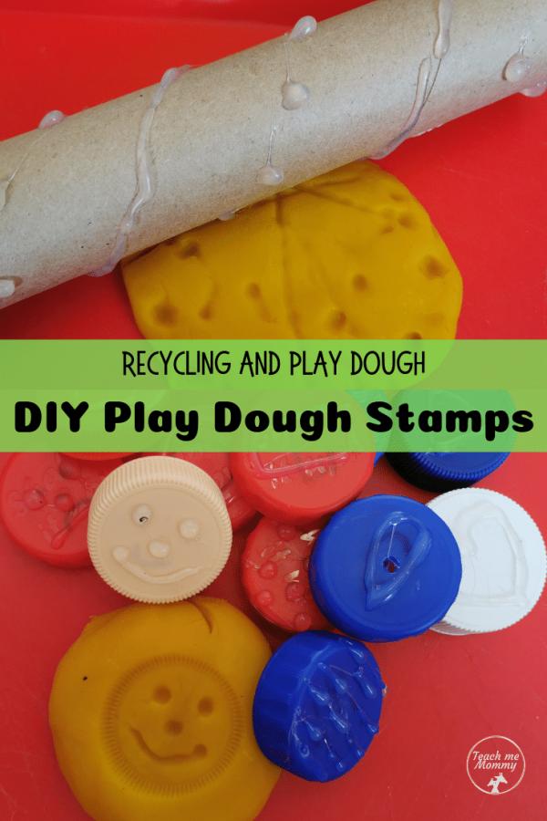 DIY Playdough Stamps pin