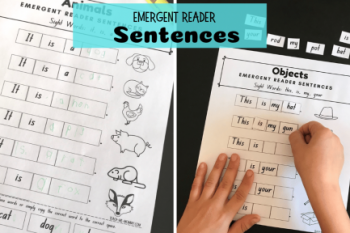 Emergent Reader Sentences