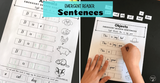 Emergent Reader Sentences