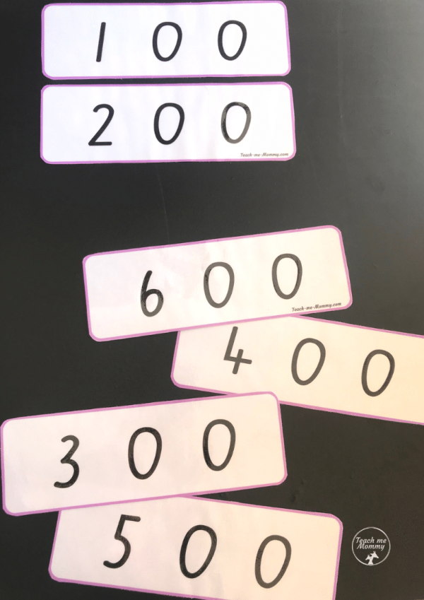 Place value cards2