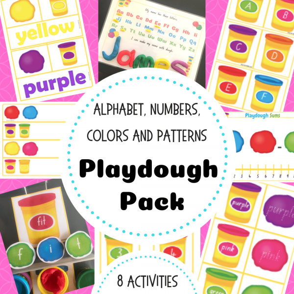 Playdough Pack TpT