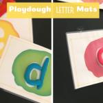 Playdough letter mat fb