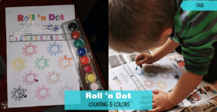 Roll 'n Dot – Count and Color