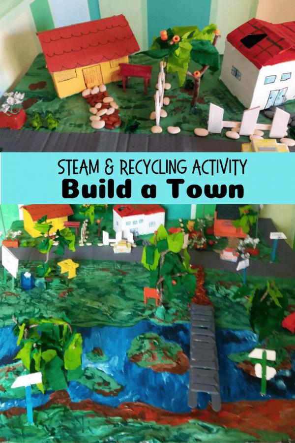 Build a Town pin