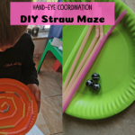 DIY straw maze fb