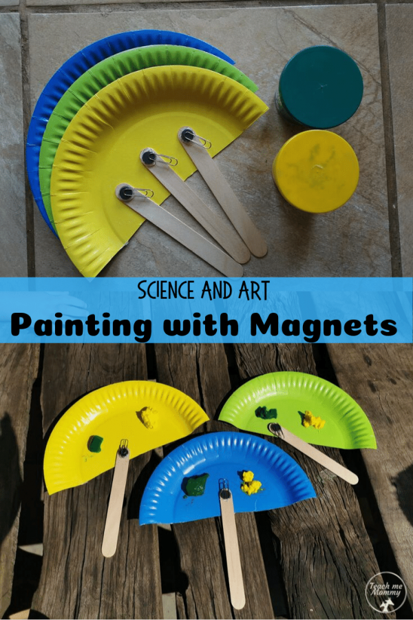 painting with magnets pin