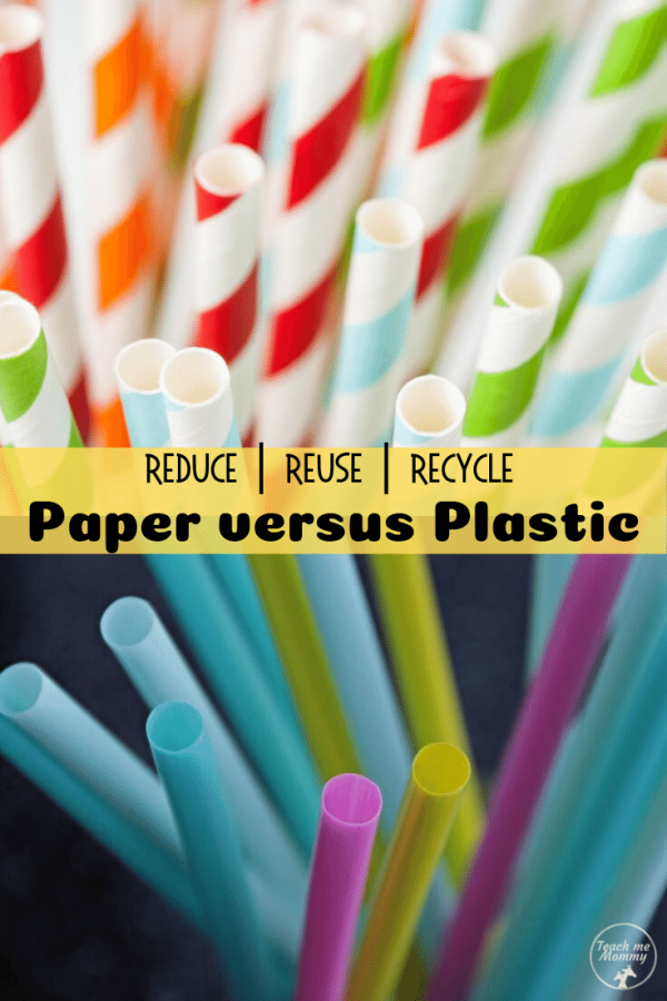 paper vs plastic pin