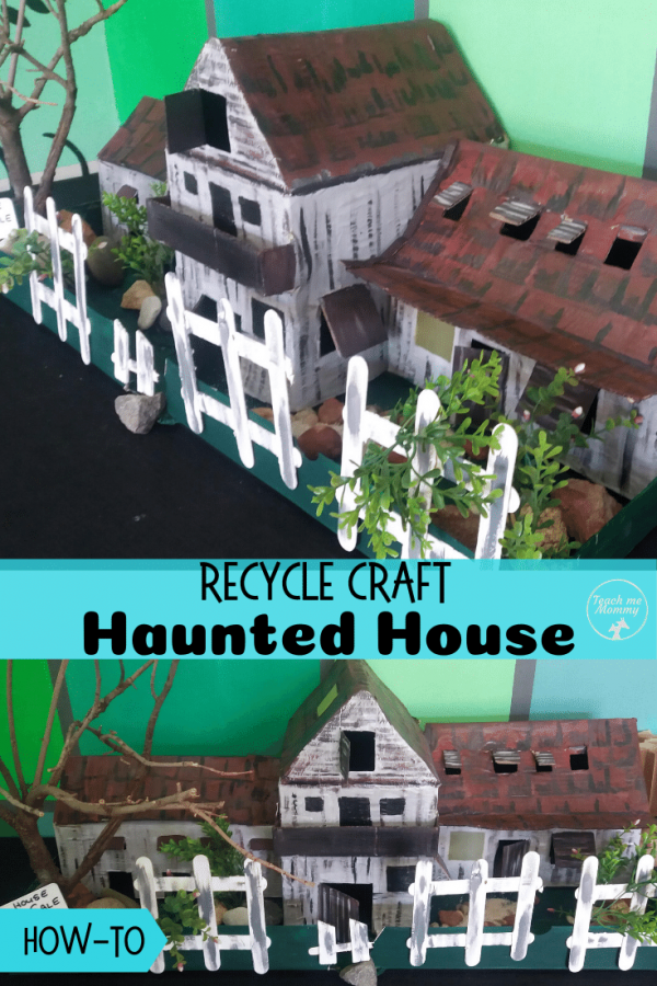 Haunted House pin