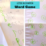 Letter Recognition game fb