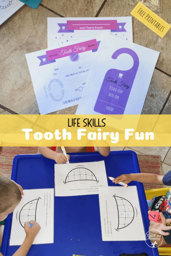 Tooth Fairy Fun pin