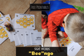 """Bee""ngo Sight Words"