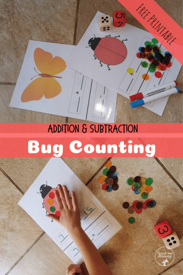 bug counting pin