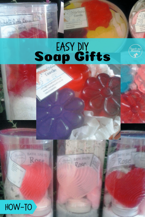 Soap gifts pin