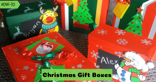 Christmas gift boxes fb