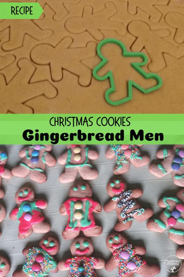 Gingerbread men pin