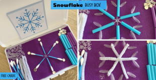 Snowflake Busy Box
