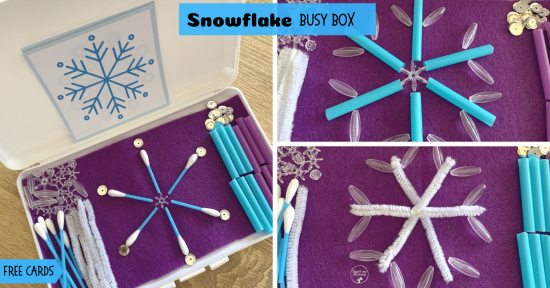 Snowflake box fb