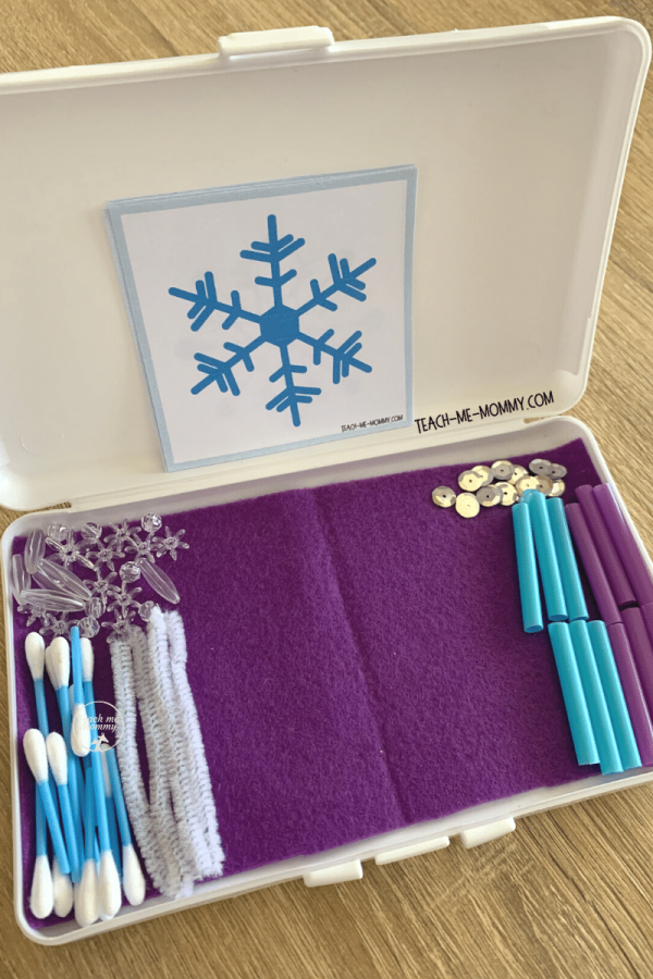 Snowflakes box1