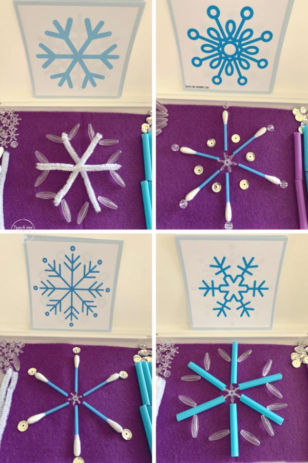 Snowflakes box2
