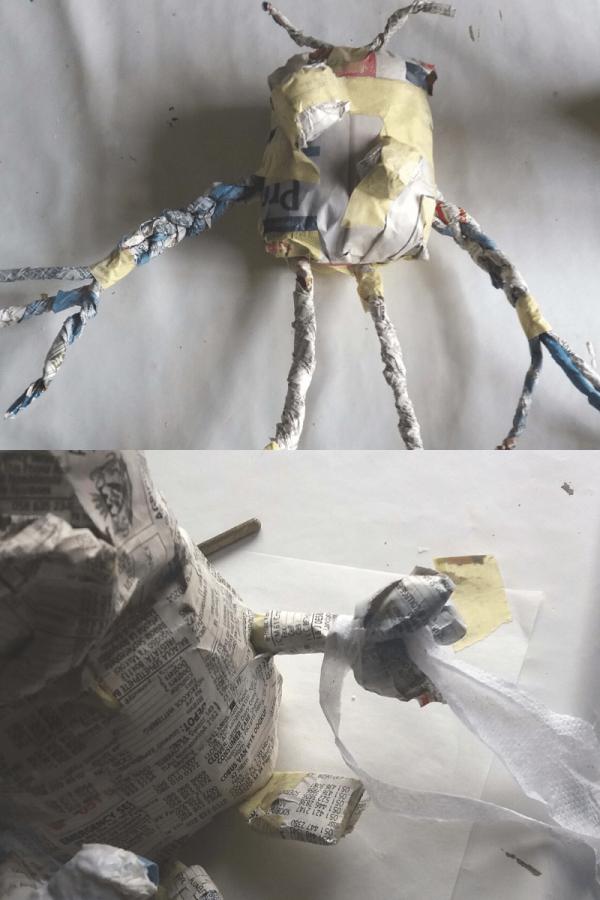 Paper Maché Aliens2