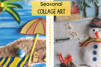 Seasonal Collage Art