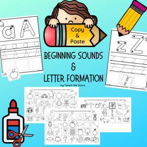 Copy & Paste Beginning Sounds