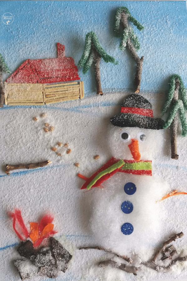 Winter Collage Art3
