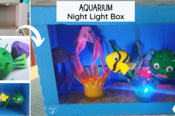 Aquarium Night Light Box