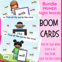 Primer Sight Words Find(Kids)