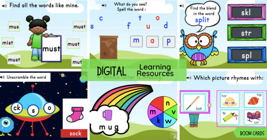 Digital Learning Resources fb