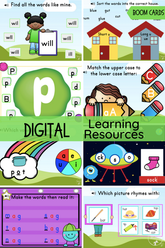 Digital Learning Resources Pin