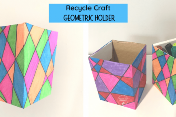 Recycle Craft Geometric Holder