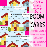 Short vs Long Vowel House sort