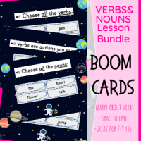Space Nouns & Verbs Lesson
