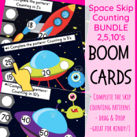 Boom Space Skip Counting Bundle