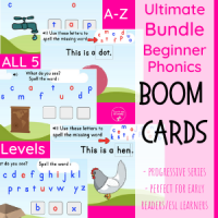 Beginner Phonics Ultimate Bundle