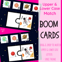 Space Upper & Lower Case Letter Match