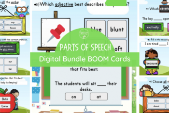 Parts of Speech Digital Bundle