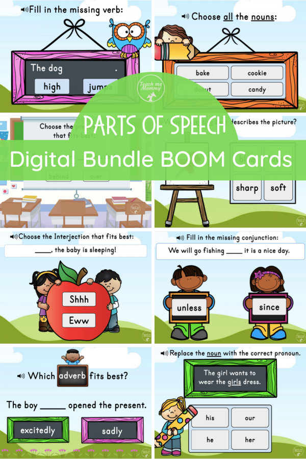 Parts of Speech Digital Bundle