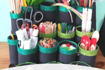 Craft Supplies Station