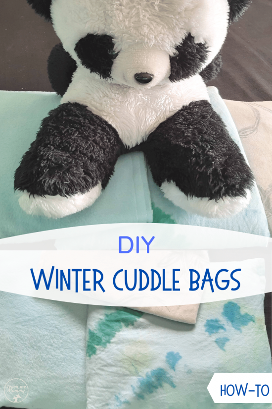 Winter cuddle bag