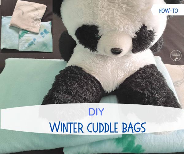 DIY Winter cuddle bags