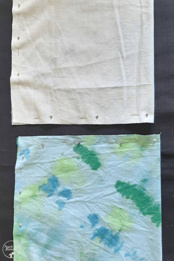 Cuddle bag stitch