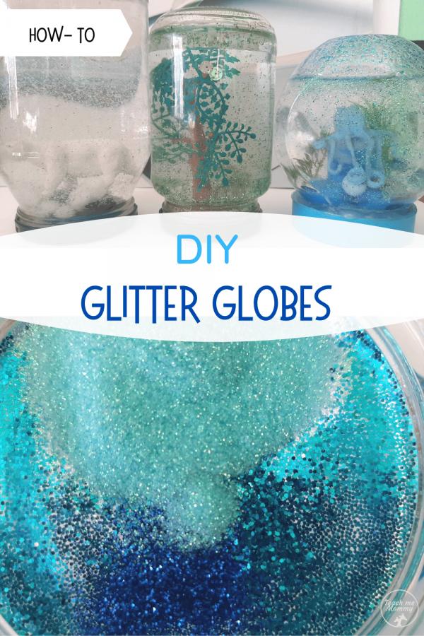 DIY Glitter Globes PIN