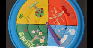 Seasons Wheel Craft